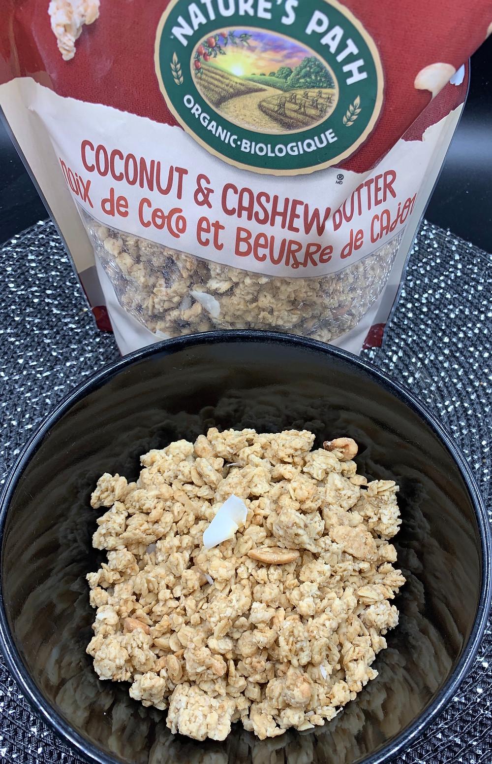 Costco Nature's Path Organic Coconut & Cashew Butter Granola