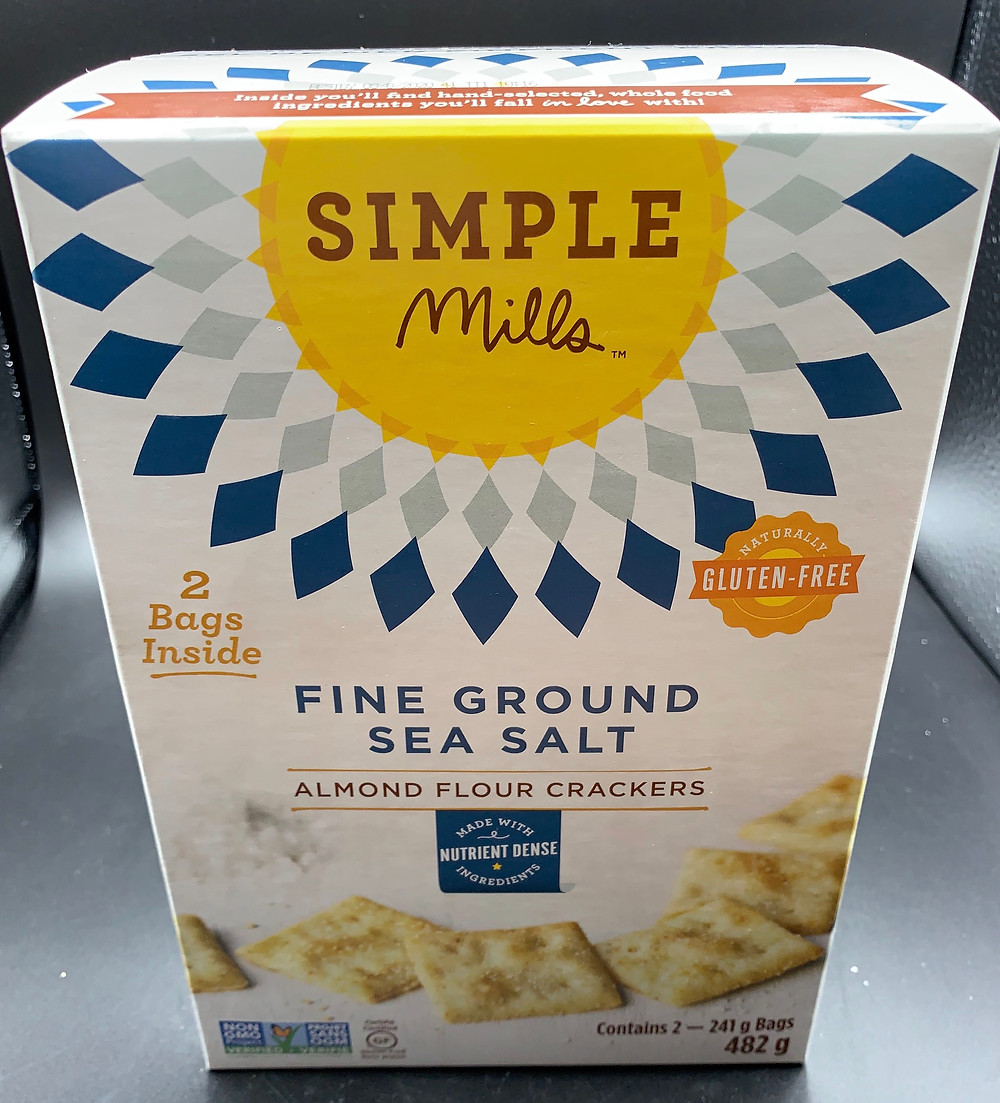 Costco Simple Mills Almond Flour Crackers