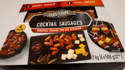 Costco Olympic Smoked Cocktail Sausages