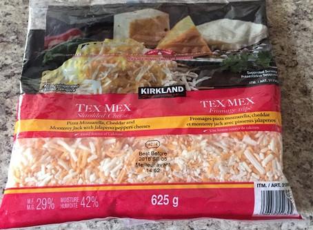 Costco Kirkland Signature Tex Mex Shredded Cheese Review