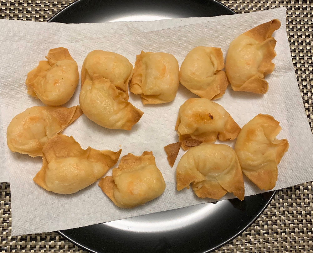 Costco Sato Asian Fare Shrimp Wontons