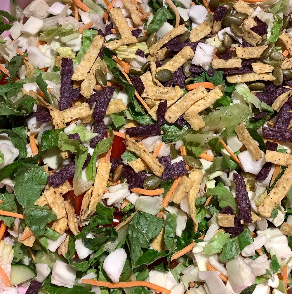Costco Taylor Farms Baja Chopped Salad Kit