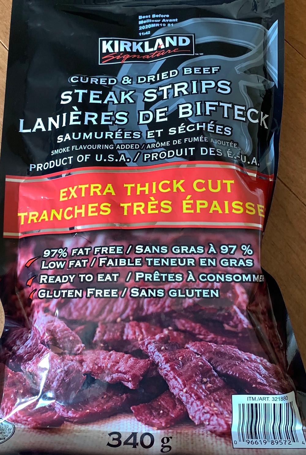 Costco Kirkland Signature Steak Strips