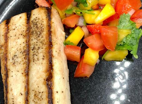 Costco Kirkland Signature Mahi Mahi with Mango Salsa Recipe