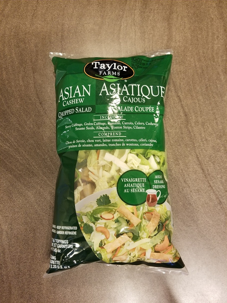 Costco Taylor Farms Asian Cashew Chopped Salad Review