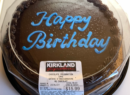 Costco Kirkland Signature Chocolate Celebration Cake Review