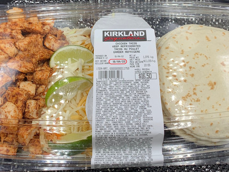 Costco Kirkland Signature Chicken Tacos Review