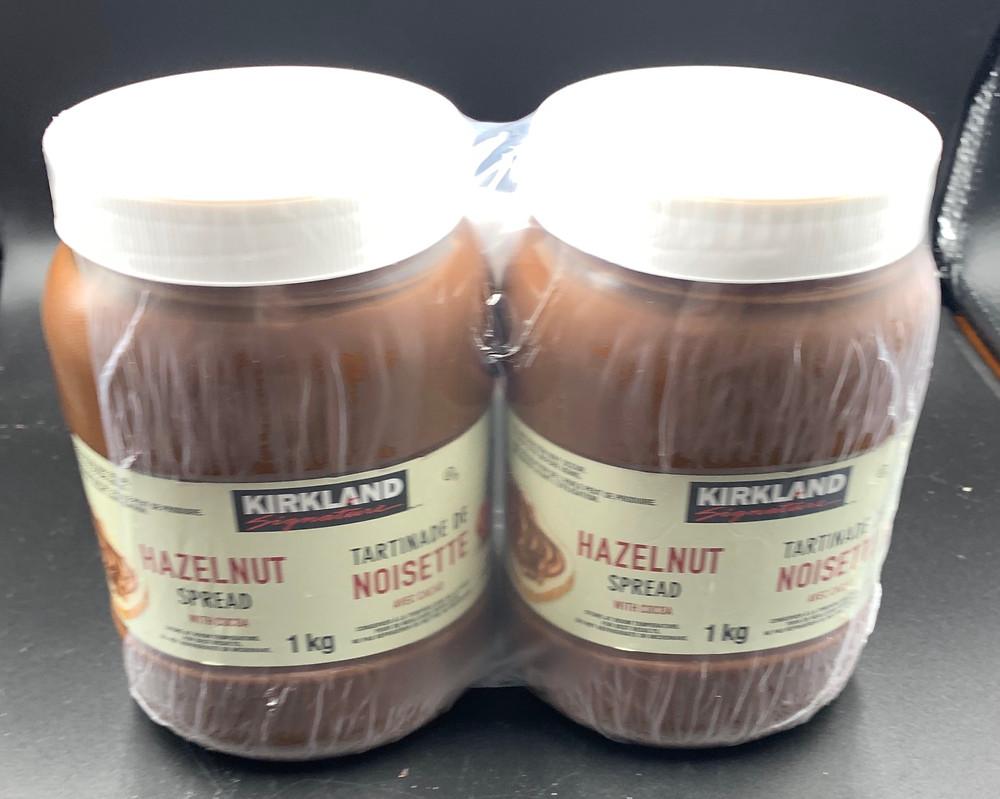 Costco Kirkland Signature Hazelnut Spread Two Pack