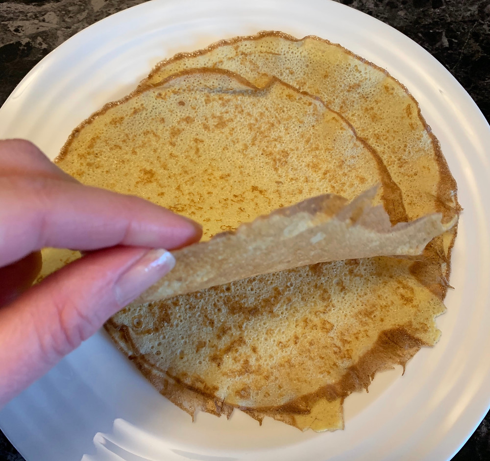 Costco Crepini Egg Thins Egg Crepes