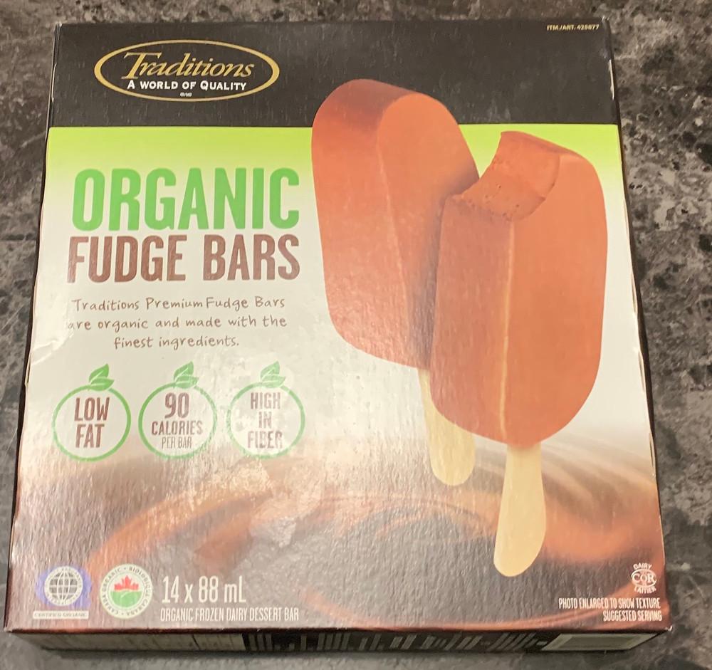 Costco Traditions Organic Fudge Bars