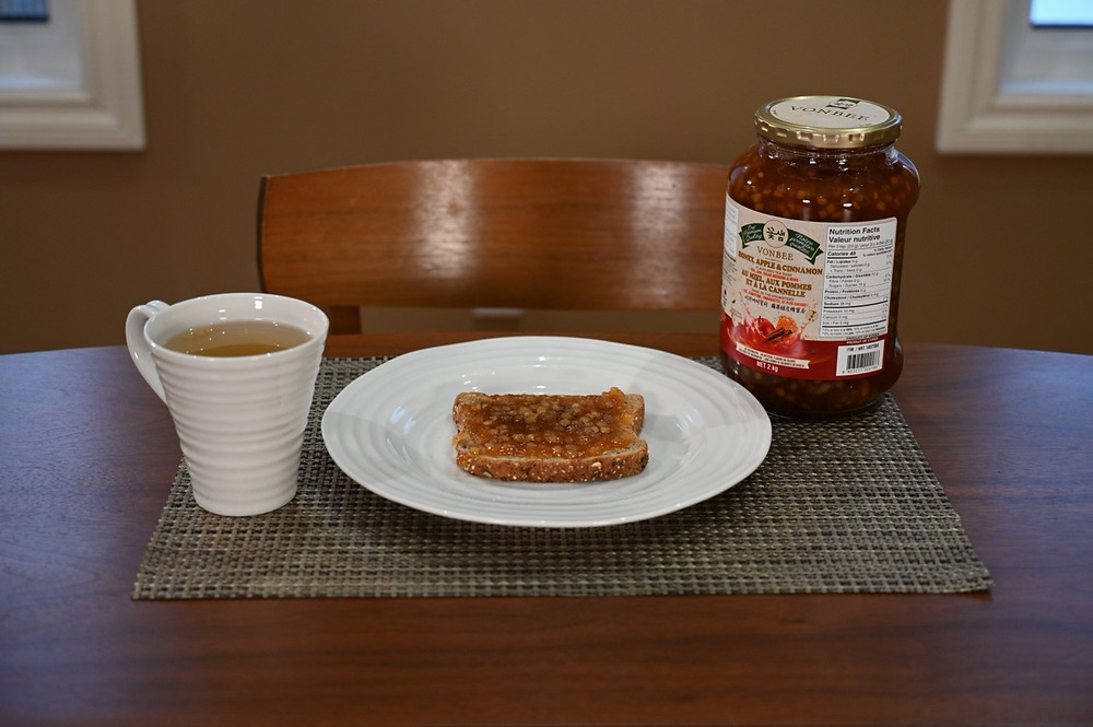 Costco Vonbee Honey, Apple & Cinnamon Tea Base