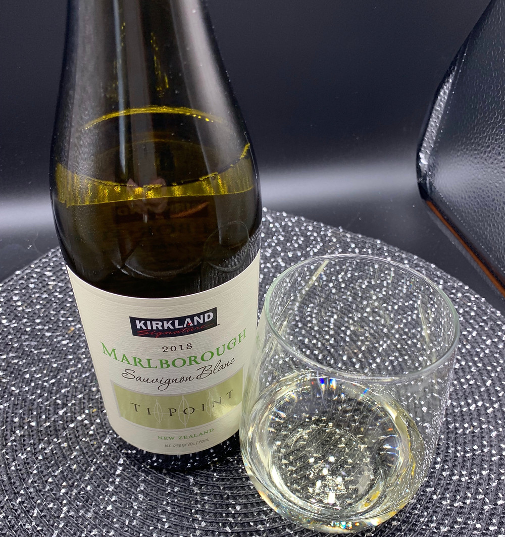 Costco Kirkland Signature 2018 Marlborough Sauvignon Blanc Ti Point