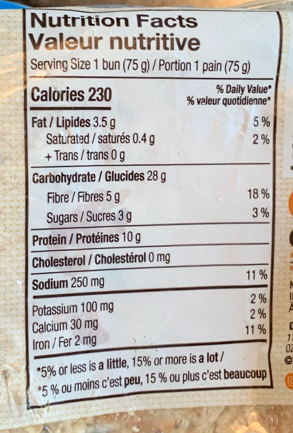 Costco Ozery Bakery Protein Rounds Nutrition