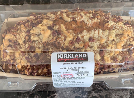 Costco Kirkland Signature Banana Pecan Loaf Review
