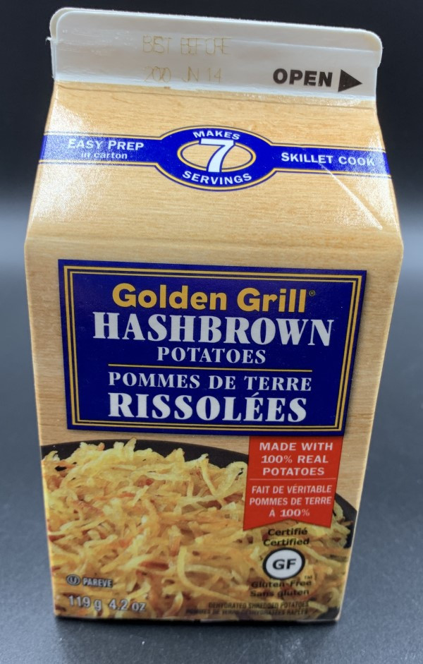 Golden Grill Hashbrown Potatoes from Costco