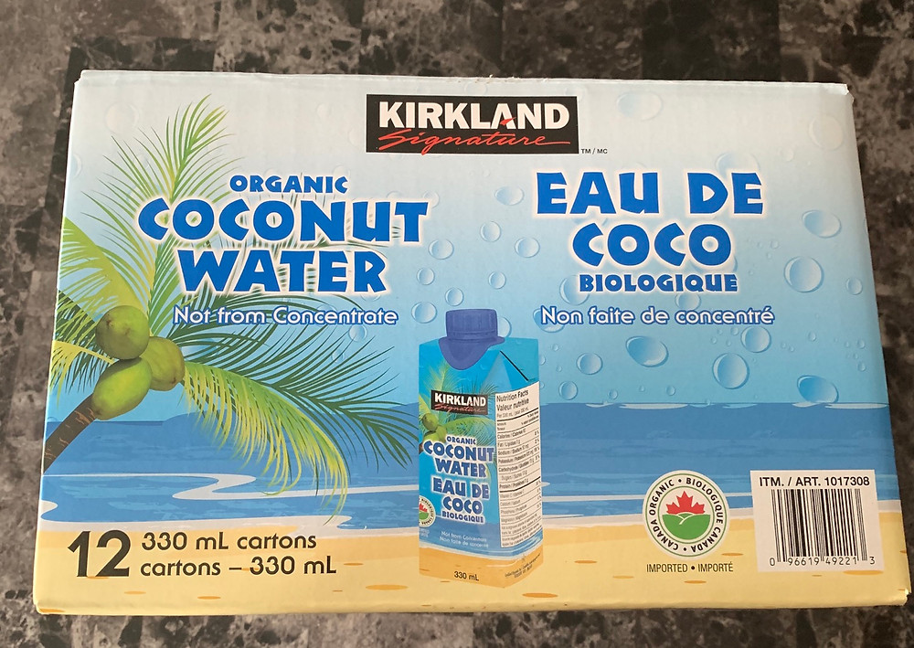 Costco Kirkland Signature Organic Coconut Water