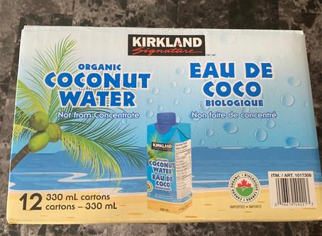 Costco Kirkland Signature Organic Coconut Water Review