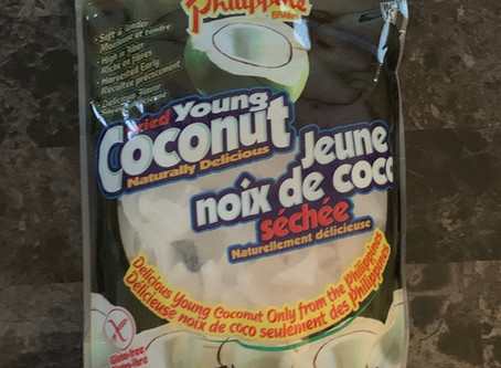 Costco Philippine Brand Young Dried Young Coconut Review