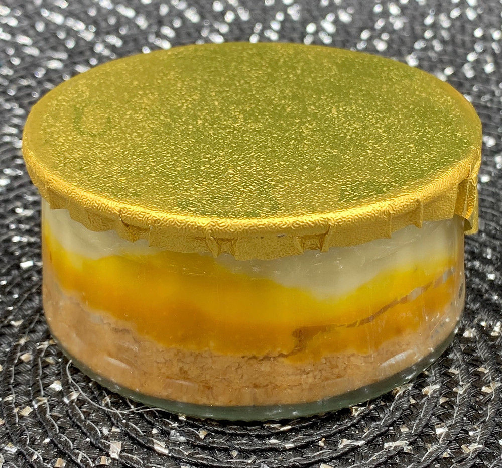 Costco Marie Morin Mango & Passion Fruit Cheesecake