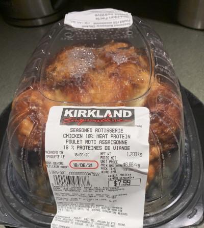 Costco Kirkland Signature Rotisserie Chicken