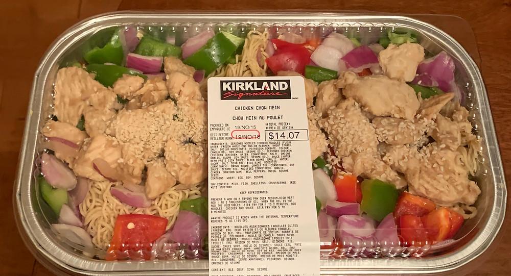 Costco Kirkland Signature Chicken Chow Mein