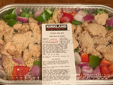 Costco Kirkland Signature Chicken Chow Mein Review