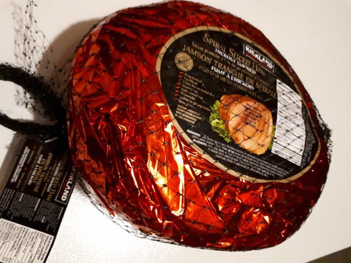 Costco Kirkland Signature Spiral Sliced Ham