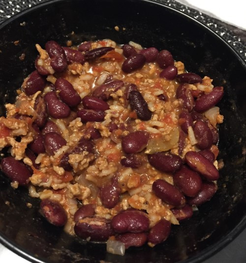 Costco Kirkland Signature Ground Turkey Chili