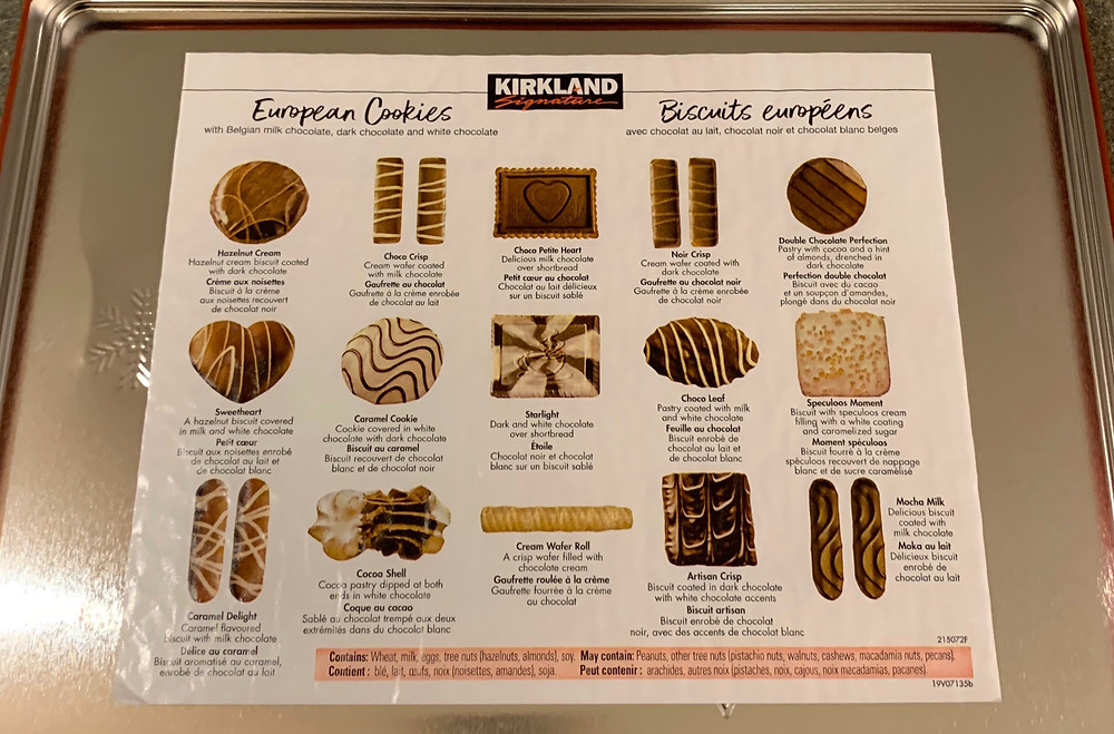 Costco Kirkland Signature European Cookies