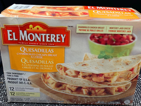 Costco El Monterey Quesadillas with Charbroiled Chicken Breast & Cheese Review