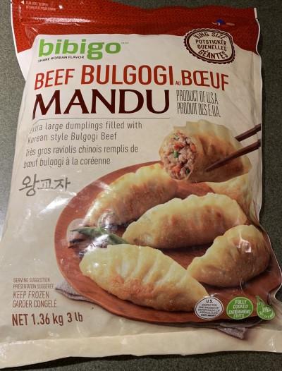 Costco Bibigo Beef Bulgogi Mandu