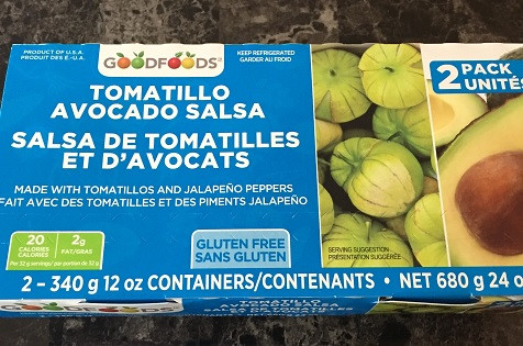 Costco GoodFoods Tomatillo Avocado Salsa Review