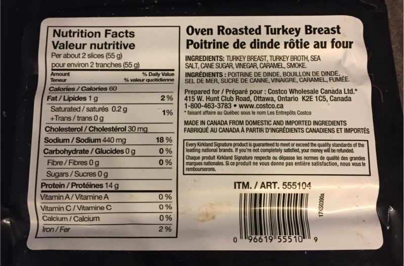 Costco Kirkland Signature Oven Roasted Turkey Breast Review