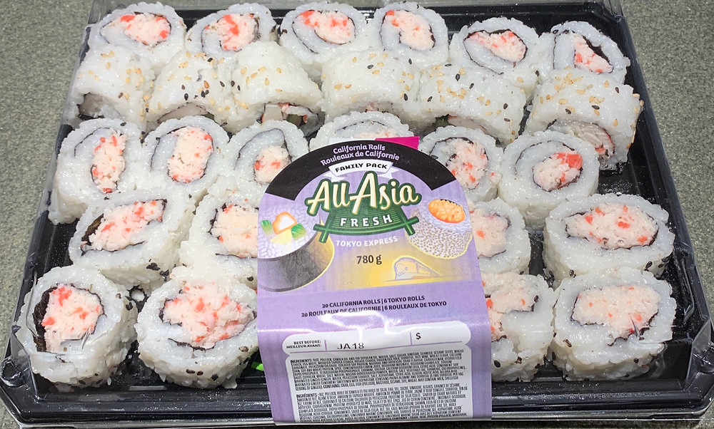 Costco All-Asia Fresh California Rolls Family Pack