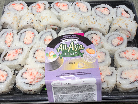 Costco All-Asia Fresh California Rolls Family Pack Review