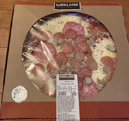 Costco Kirkland Signature Four Meat Pizza