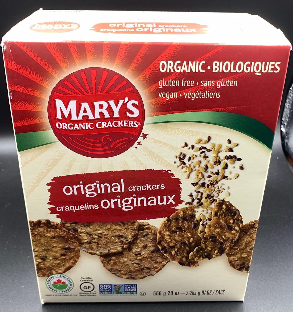 Costco Mary's Organic Crackers