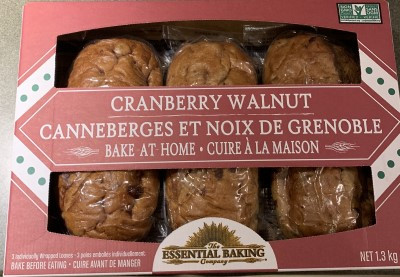 Costco Cranberry Walnut Loaf by the Essential Baking Company
