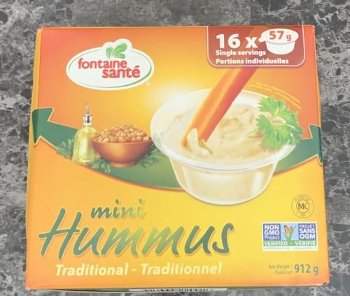 Costco Fontaine Sante Mini Hummus