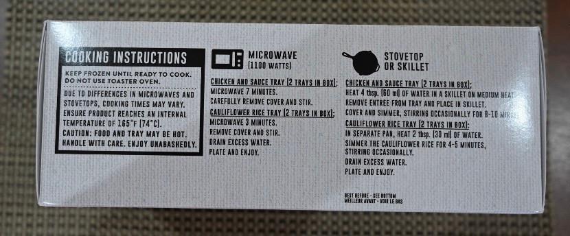 Costco Caesar's Kitchen Chicken Florentine Cooking Instructions