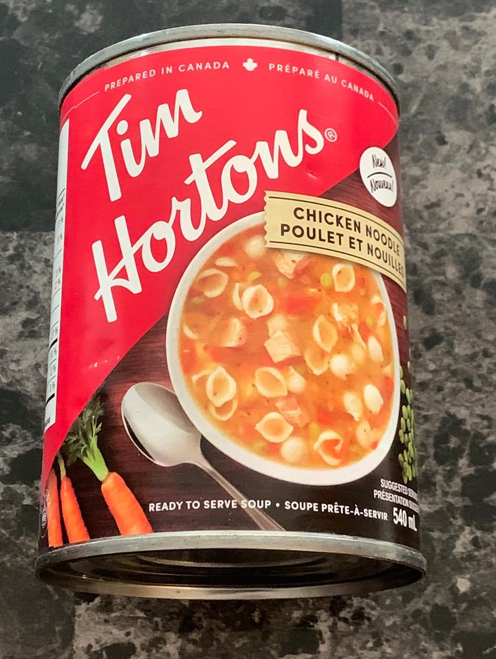 Costco Tim Hortons Chicken Noodle Soup