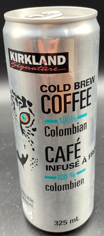 Costco Kirkland Signature Cold Brew Colombian Coffee