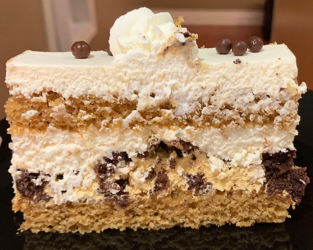 Costco Kirkland Signature Caramel Brownie Cake