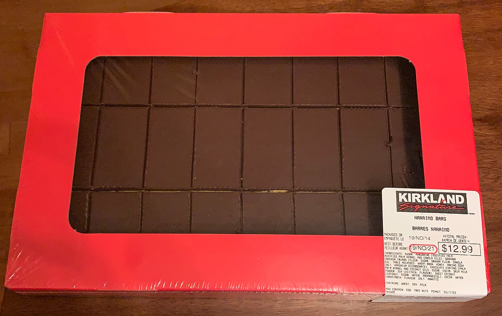 Costco Kirkland Signature Nanaimo Bars