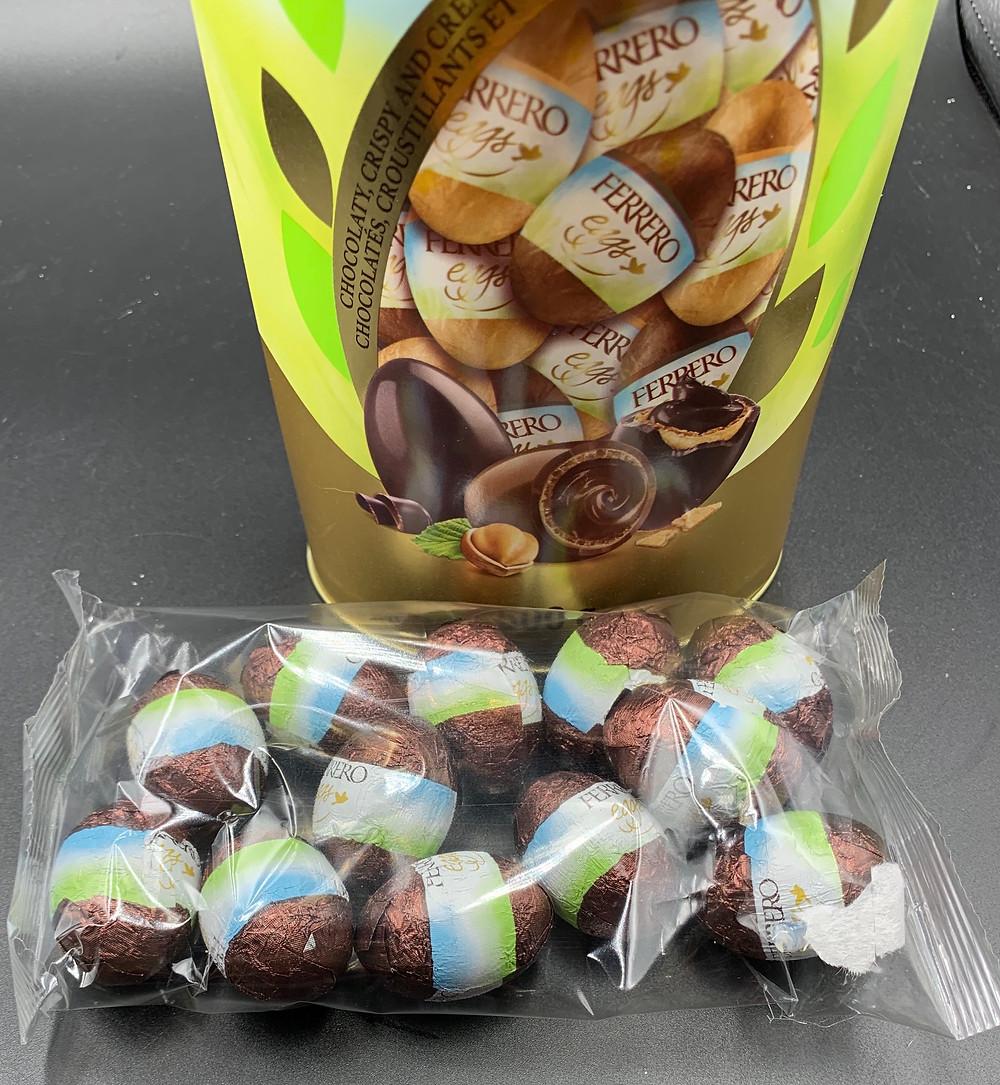 Costco Ferrero Eggs