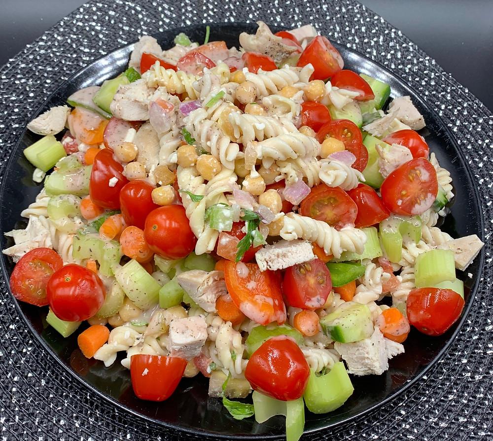 Veggie Heavy Mediterranean Costco Kirkland Signature Mediterranean Pasta Salad