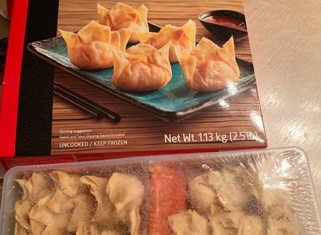 Costco Sato Asian Fare Shrimp Wontons Review