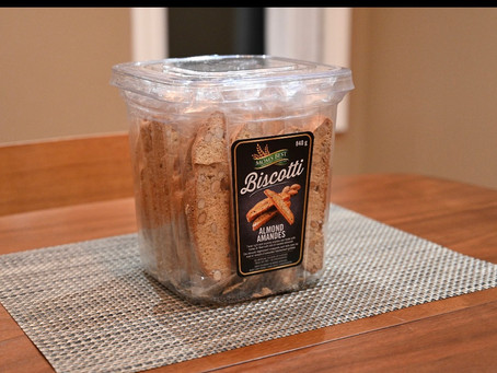 Costco Mom's Best Almond Biscotti Review