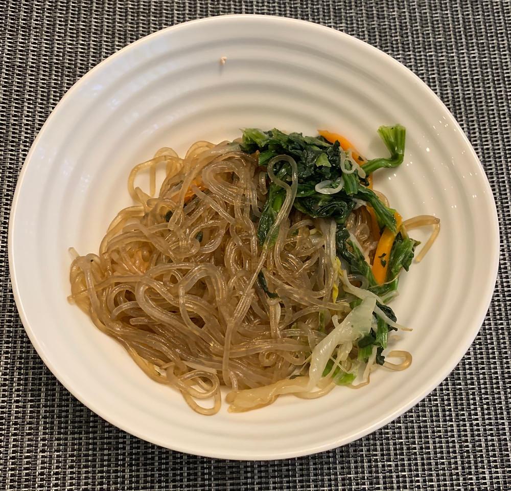 Costco Arumi Japchae Korean Style Stir-Fried Glass Noodles