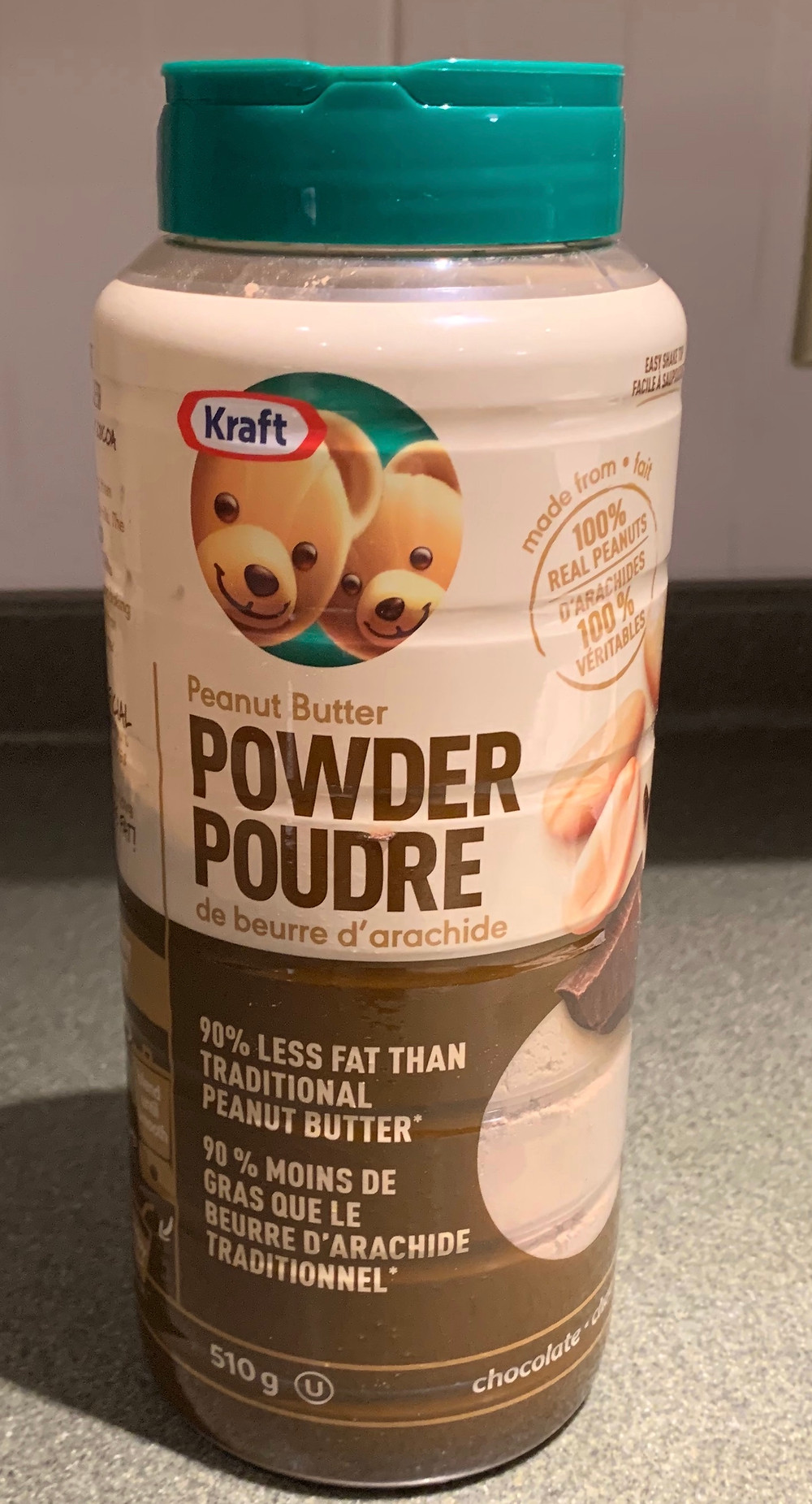 Costco Kraft Chocolate Peanut Butter Powder